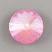 Swarovski Rivoli 1122 – Lotus Pink DeLite - 12mm