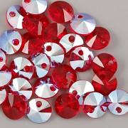 Swarovski Elements přívěsky 6428 – Rivoli – Light Siam Shimmer - 8mm