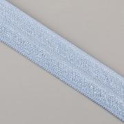 PRUŽENKA - Jeansově modrá - 15mm