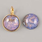 BUBA kamínky - MUGLE KULATÁ modrá s měděnými žilkami - 20mm
