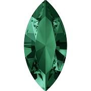 Swarovski NAVETTE 4228 – Emerald - 10mm