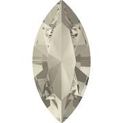 Swarovski NAVETTE 4228 – Silver Shade - 10mm