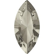 Swarovski NAVETTE 4228 – Smoky Quartz - 10mm