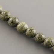 Korálky z minerálů - Serpentin - 8mm