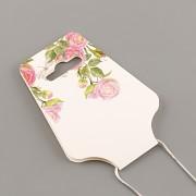 Závěs na náušnice a náhrdelník nebo náramek - s růžemi
