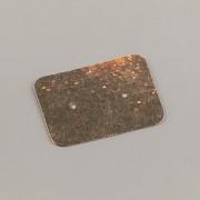 Kartička na JEDNY náušnice VESMÍR - 2,5 X 3,5cm