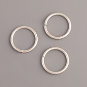 Spojovací kroužky - 16 mm - platina