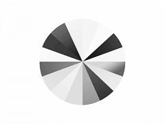 Swarovski Elements Rivoli 1122 – Light CHrome – 12mm
