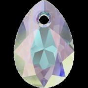 Swarovski přívěsek 6433 Pear Cut – Crystal AB - 11mm