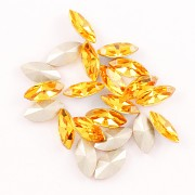 Swarovski NAVETTE 4228 – Sunflower - 10mm