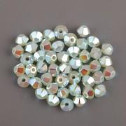 Swarovski Elements korálky XILION 5328 – Sluníčka – Pacific Opal AB2x – 4mm