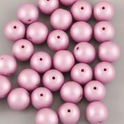 Perličky - 50ks - 6mm - pastelová růžovofialová
