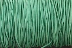 Klobouková guma SVĚTLE ZELENÁ 1mm - návin 10m