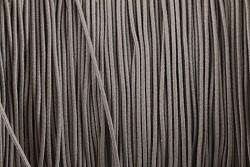 Klobouková guma TMAVĚ ŠEDÁ 1mm - návin 10m