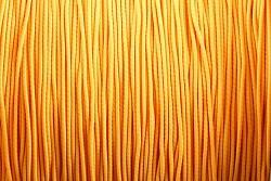 Klobouková guma NEON SVĚTLE oranžová 1mm - návin 10m