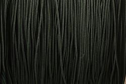 Klobouková guma TMAVĚ ZELENÁ 1mm - návin 10m