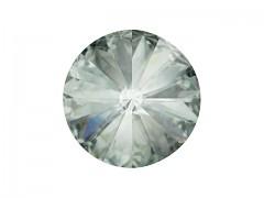 Swarovski Elements Rivoli 1122 – Black Diamond Foiled – 8mm