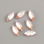 Swarovski NAVETTE 4228 – Light Rose Shimmer - 15mm