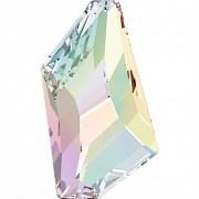 Swarovski Elements přívěsky 4766 De–Art Flat Back - Crystal AB 38mm