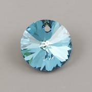 Swarovski Elements přívěsky 6428 – Rivoli – Bermuda Blue – 12mm