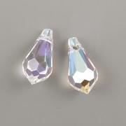 Swarovski Elements přívěsky 6000 – Tear Drop – Crystal Shimmer - 15mm