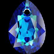Swarovski přívěsek 6433 Pear Cut – Bermuda Blue - 16mm
