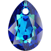 Swarovski přívěsek 6433 Pear Cut – Bermuda Blue - 11mm
