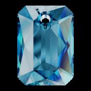 Swarovski Elements přívěsky 6435 Emerald Cut – Bermuda Blue - 16mm