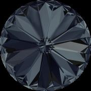 Swarovski Elements Rivoli 1122 – Graphite Foiled – 14mm