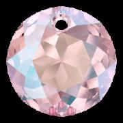 Swarovski Elements přívěsky 6430 Classic Cut – Light Rose Shimmer - 10mm
