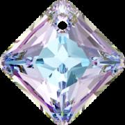 Swarovski Elements přívěsky 6431 Princess Cut – Vitrail Light - 11mm