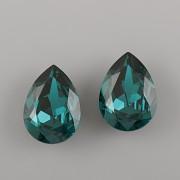 Slzička Swarovski Elements 4320 - Emerald - 8mm