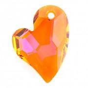 Swarovski Elements přívěsky 6261 – Devoted 2 U Heart – Astral Pink 27mm