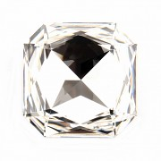 Swarovski Elements Square Octagon 4675 – Crystal Foiled – 23mm