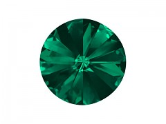 Swarovski Elements Rivoli 1122 – Emerald Foiled – 12mm