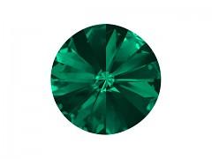 Swarovski Elements Rivoli 1122 – Emerald Foiled – 12mm
