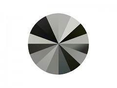 Swarovski Elements Rivoli 1122 – Jet Hematite – 14mm