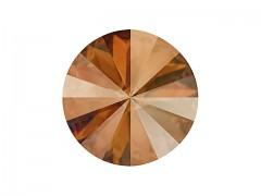 Swarovski Elements Rivoli 1122 – Copper Foiled – 14mm