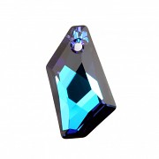Swarovski Elements přívěsky 6670 - De-art Bermuda Blue - 50mm