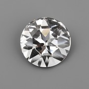 Round Stone Swarovski Elements 1201 – Crystal F – 27mm