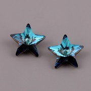 Star Fancy Swarovski Elements 4745 – Bermuda Blue F – 10mm