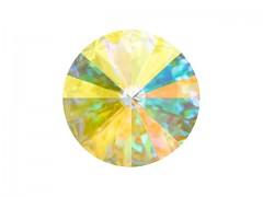 Swarovski Elements Rivoli 1122 – Crystal AB Unfoiled – 18mm