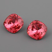 Fancy Stone Swarovski Elements 4470 – Indian Pink Foiled – 10mm