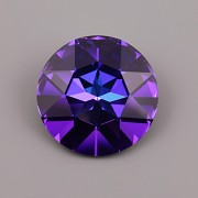 Round Stone Swarovski Elements 1201 – Heliotrope F – 27mm