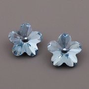 FLOWER Swarovski Elements 4744 – Aquamarine F – 10mm