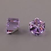 Kostičky Swarovski Elements 4841 – nalepovací seříznuté – Violet – 8mm