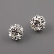 Štrasové korálky - Crystal - 10mm