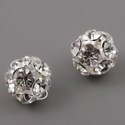 Štrasové korálky - Crystal - 14mm