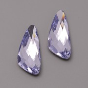 Swarovski Elements Fancy Stone 4790 – Wing – Provence Lavander Foiled – 32mm