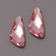 Swarovski Elements Fancy Stone 4790 – Wing – Light Rose Foiled – 18mm